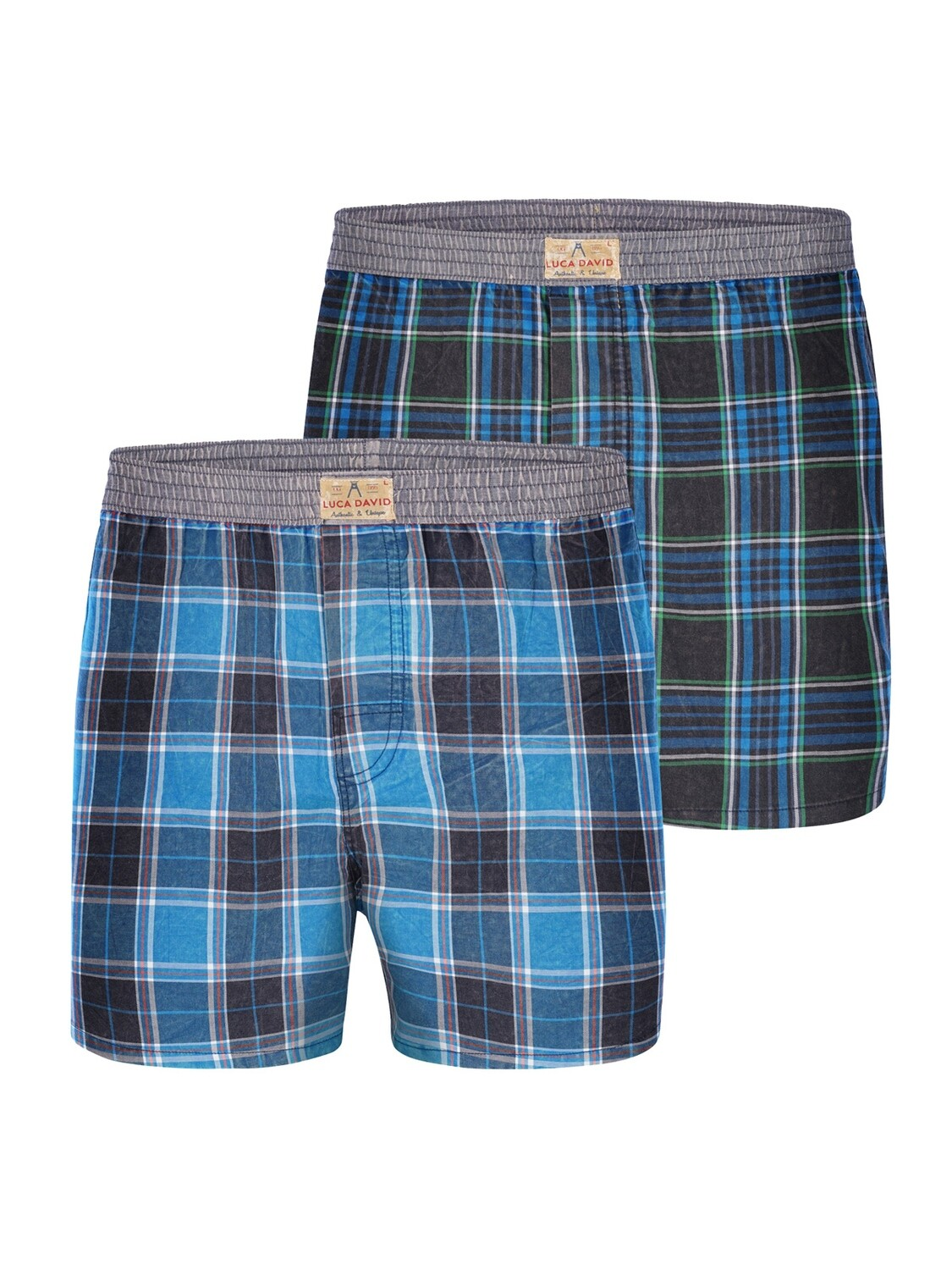 LUCA DAVID Olden Glory 2Pack Boxershorts