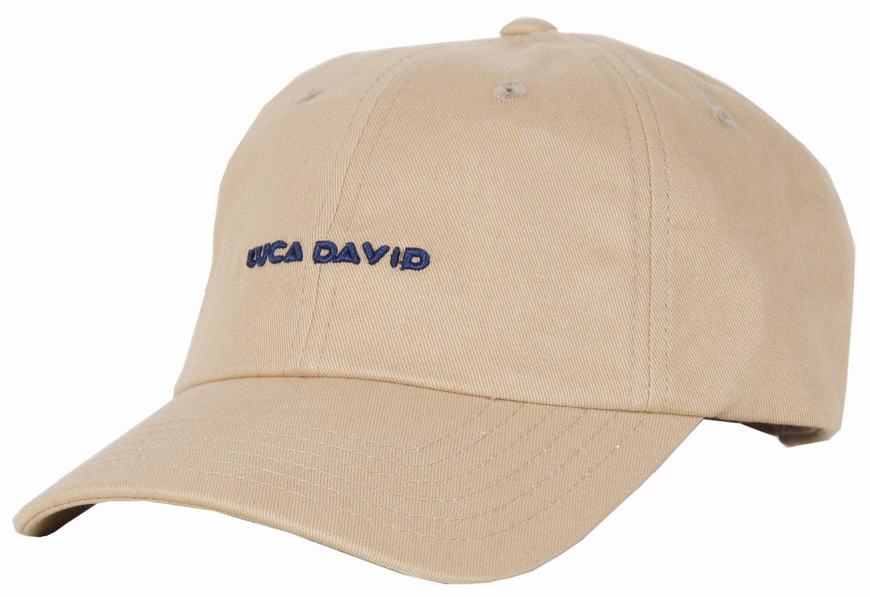 LUCA DAVID restricted Cap in Farbe khaki/beige
