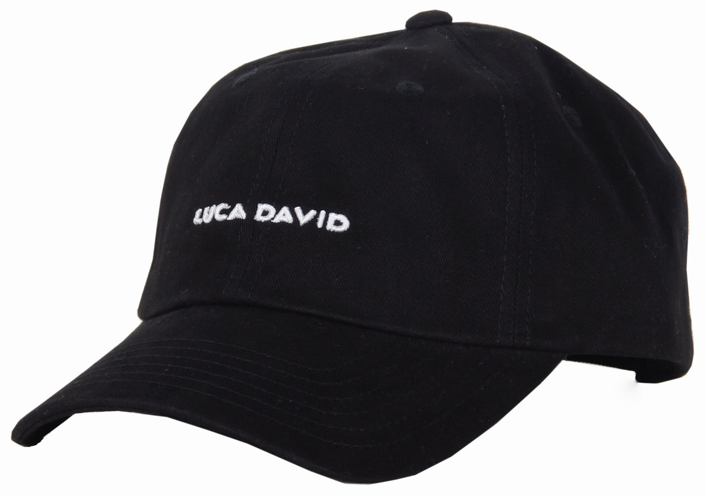 LUCA DAVID restricted Cap in Farbe schwarz