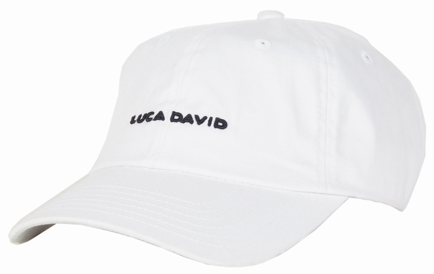 LUCA DAVID restricted Cap in Farbe weiß