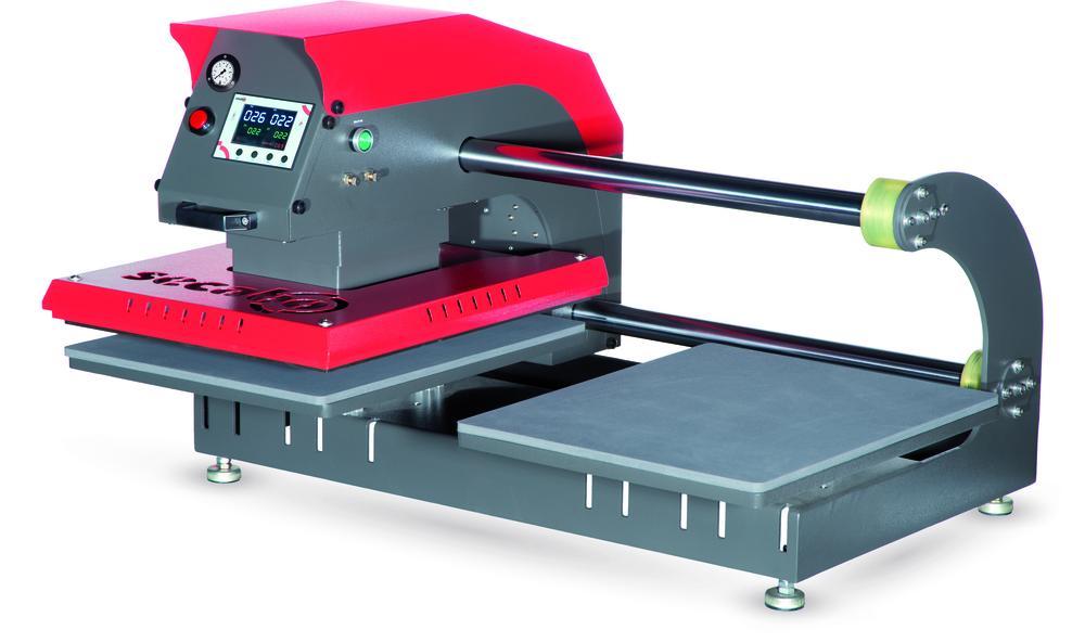 SECABO TPD7 pneumatische dubbele hitte pers | Heat Press