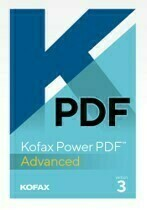 Kofax Power PDF 3 Advanced Volume Level A 5- 24 users (support not included)