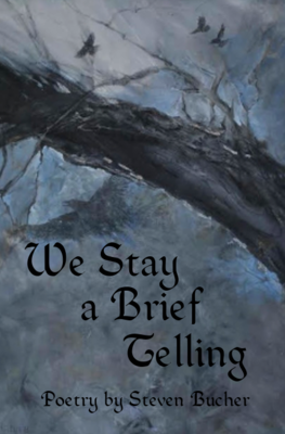 We Stay a Brief Telling, by Steven Bucher