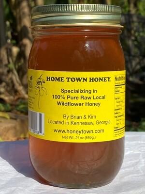 Honey - 21 oz  Pint - Glass