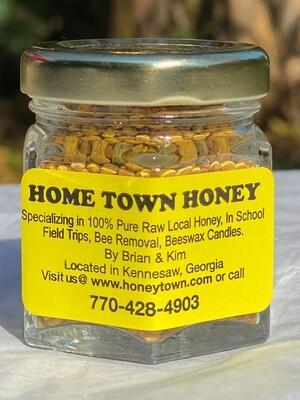 Bee Pollen 100%- 1 oz. Jar