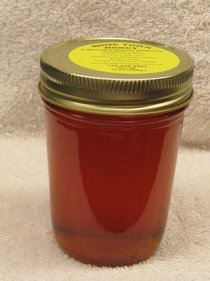 Honey Half Pint Glass 10 oz