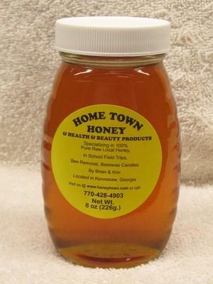 8oz Glass Jar of Honey