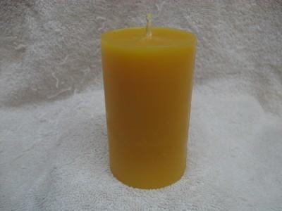 Plain Pillar Candle 2 x 3