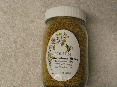 Bee Pollen 100%- 1 oz. Jar