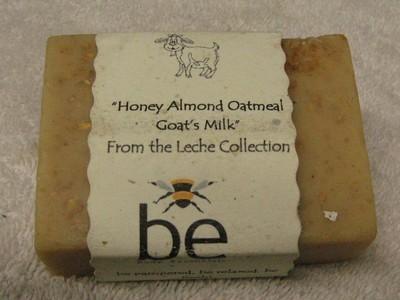 Honey, Almond, Oatmeal & Goats Milk Soap Bar