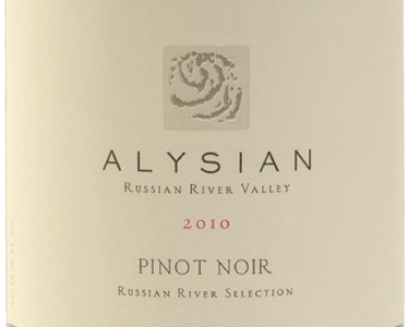 Alysian Pinot Noir Russian River Selection 2010