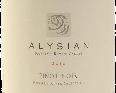 Alysian Pinot Noir Russian River Selection 2010
