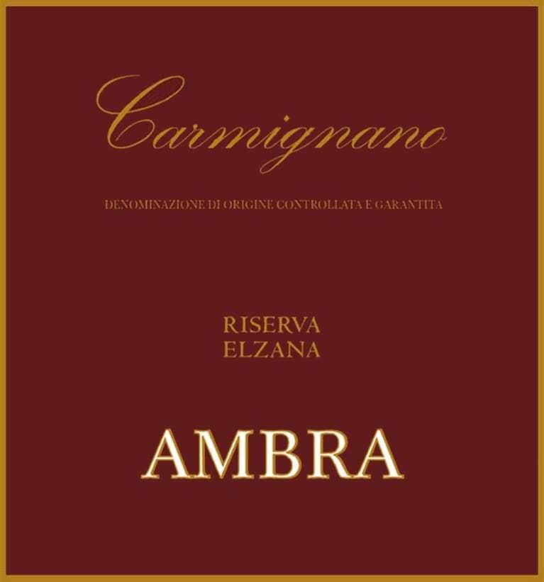 Ambra Carmignano Elzana Riserva 2003