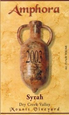 Amphora Zinfandel Mounts Vineyard 1999