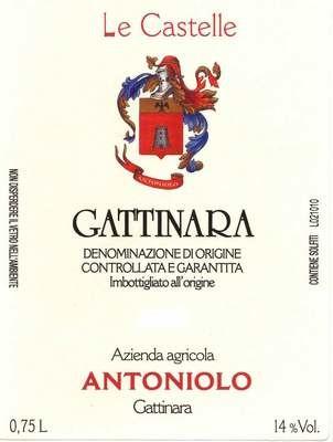 Antoniolo Gattinara Castelle 2010
