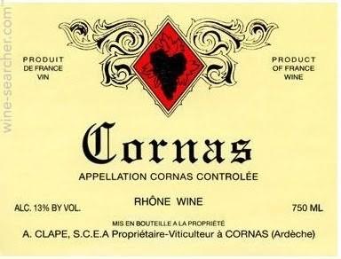 Auguste Clape Cornas 1988