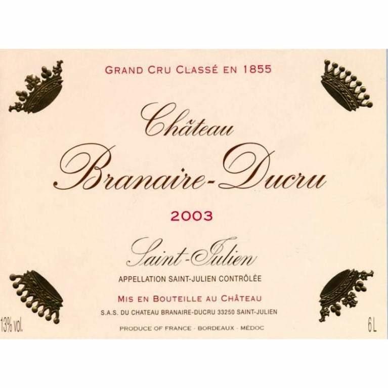 Branaire Ducru 2003