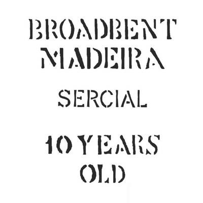 Broadbent 10 Year Old Sercial Madeira