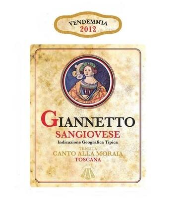 Canto Alla Moraia Giannetto Sangiovese 2012