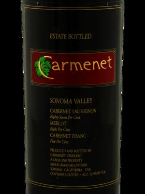 Carmenet Cabernet Sauvignon 1985
