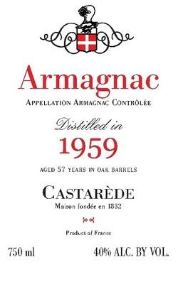 Castarede Armagnac 1959