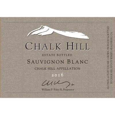 Chalk Hill Estate Sauvignon Blanc 2016