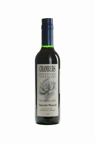 Chambers Rosewood Special Muscat (375ml) [98pts RP]