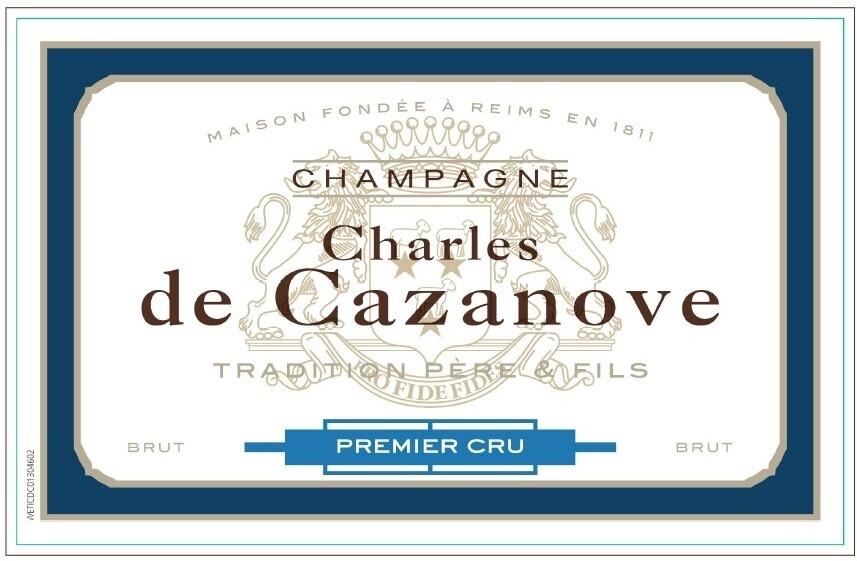 Charles de Cazanove Brut 1er Cru Tradition