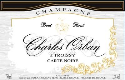 Charles Orban Carte Noire Brut