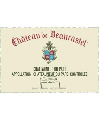 Chateau de Beaucastel Chateauneuf du Pape 1983