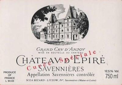 Chateau d'Epire Savennieres Cuvee Speciale 1997