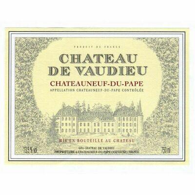 Chateau de Vaudieu Chateauneuf du Pape 2015