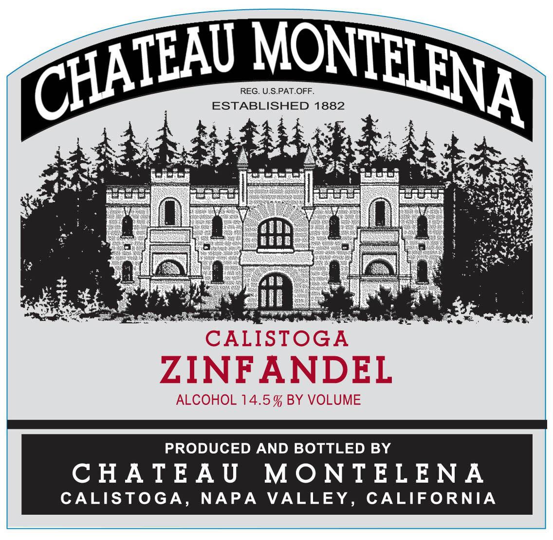 Chateau Montelena Zinfandel 2015 (MAG)