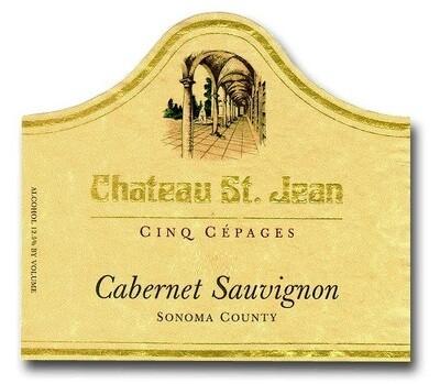 Chateau St Jean Cabernet Sauvignon Cinq Cepages 1995