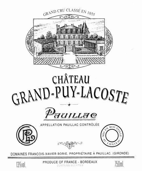 Grand Puy-Lacoste 1982 [96pts RP]