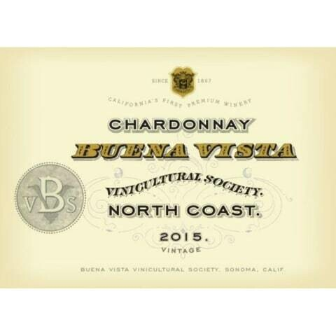 Buena Vista North Coast Chardonnay 2015 *SALE*
