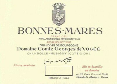 Comte de Vogue Bonnes Mares 1971
