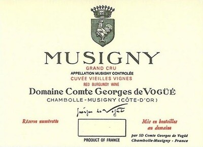Comte de Vogue Musigny 1964
