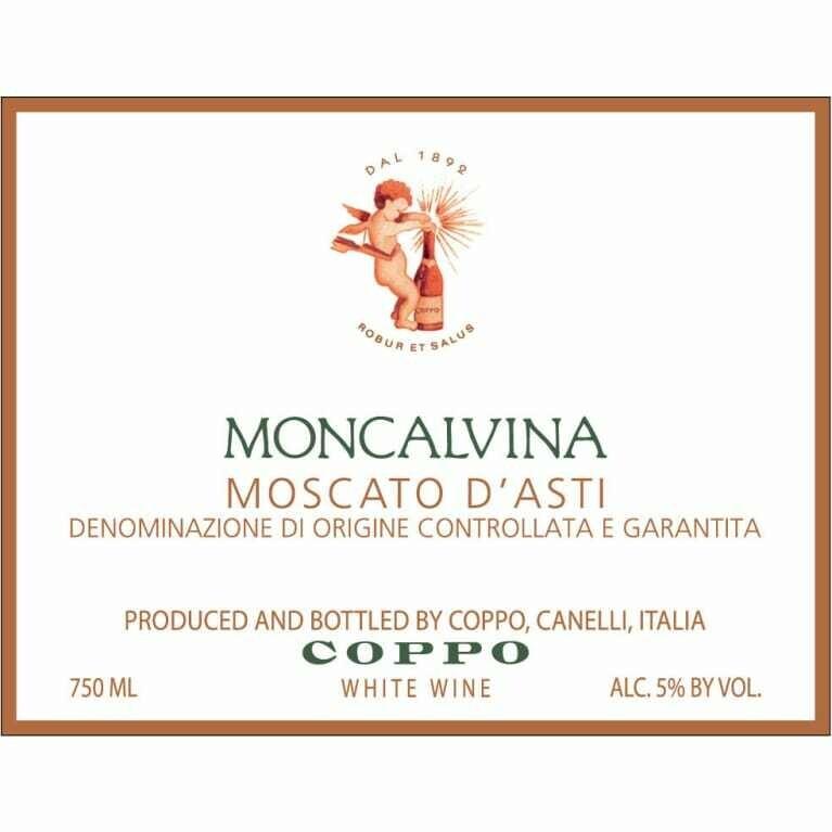 Coppo Moscato d'Asti Moncalvina 2015