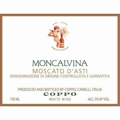 Coppo Moscato d'Asti Moncalvina 2018