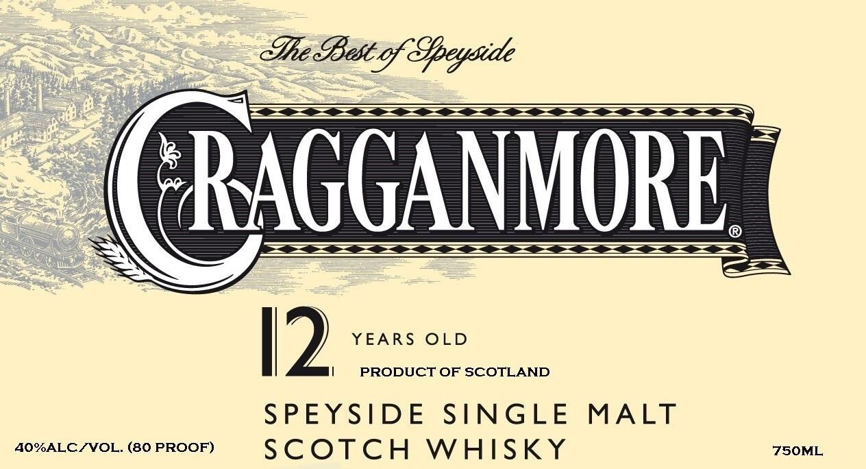 Cragganmore 12 Year Old Single Malt Scotch
