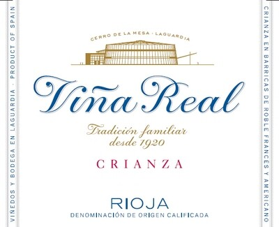 CVNE Vina Real Crianza 2015