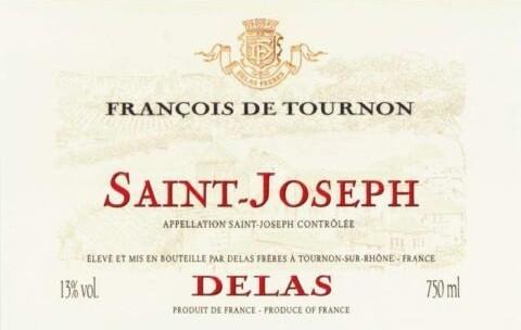 Delas Freres St Joseph Cuvee Francois de Tournon 2013