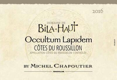 Domaine de Bila-Haut Occultum Lapidem Blanc 2016