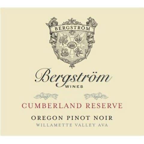 Bergstrom Cumberland Reserve Pinot Noir 2016