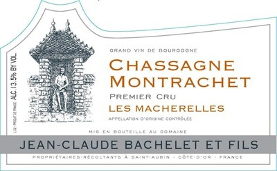 Jean-Claude Bachelet Chassagne Montrachet les Macherelles 2011