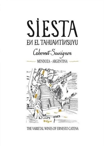 Ernesto Catena Cabernet Sauvignon Siesta 2009