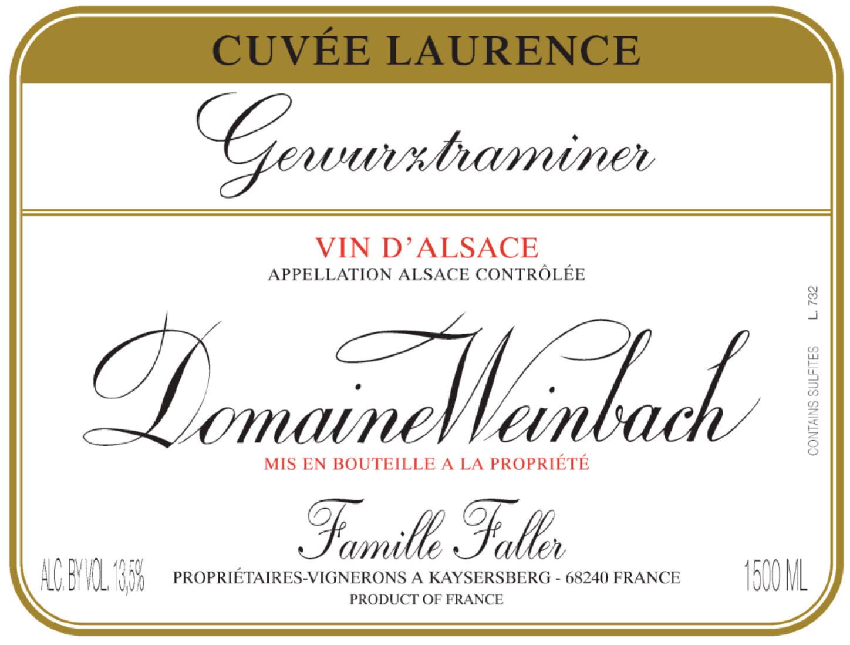 Weinbach Gewurztraminer Cuvee Laurence 2012