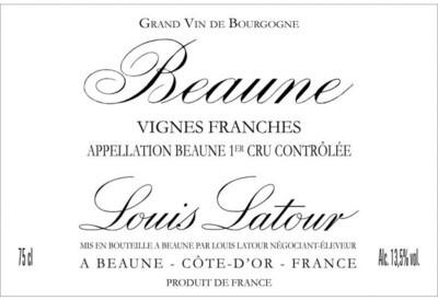 Louis Latour Beaune Vignes Franches 2013