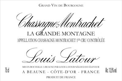 Louis Latour Chassagne-Montrachet La Grande Montagne 2014